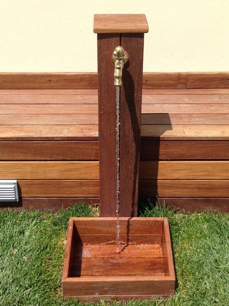 Esterno igs posa parquet for Fontane in legno